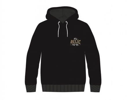 Relic Stoned Hoodie Black Large